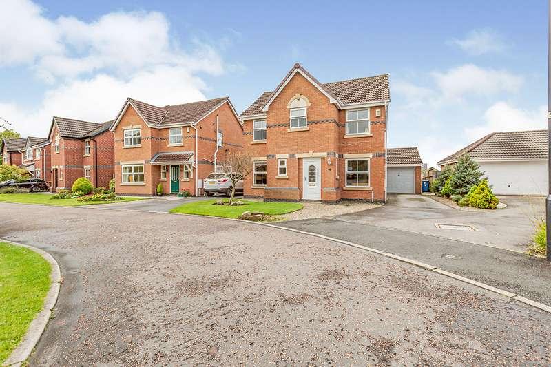 4 Bedrooms Detached House for sale in Ivy Close, Leyland, PR25