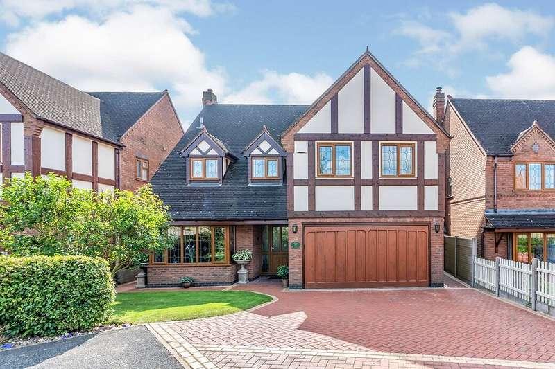5 Bedrooms Detached House for sale in Grange Court, Hixon, Stafford, ST18