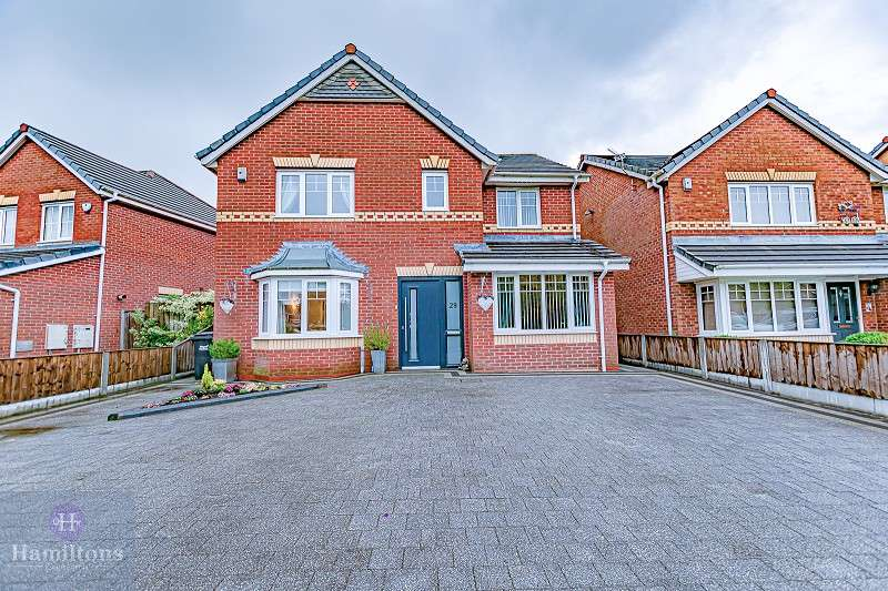 4 Bedrooms Detached House for sale in Caton Drive, Atherton, Manchester, Greater Manchester. M46 0NY