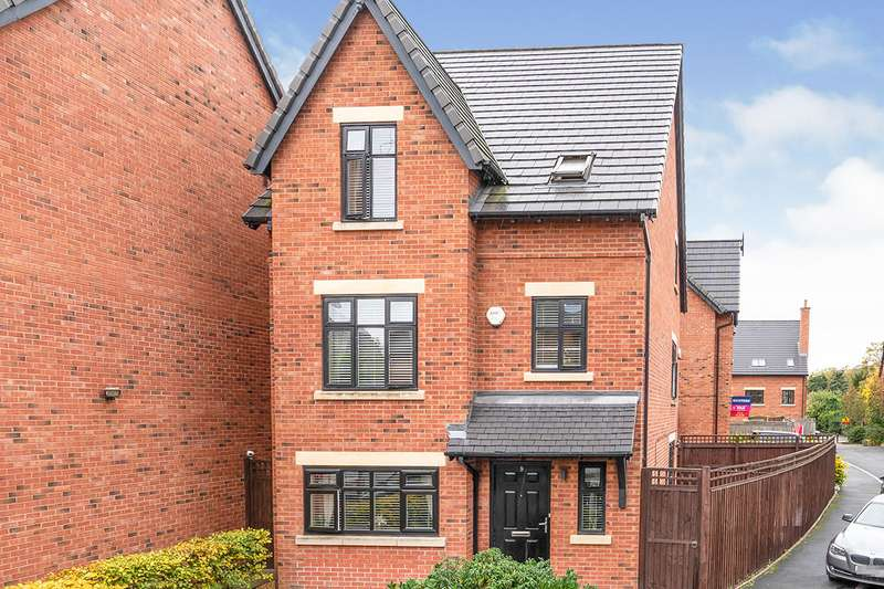 4 Bedrooms Detached House for sale in The Moorings, Worsley, M28