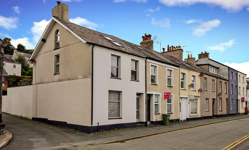 3 Bedrooms End Of Terrace House for sale in Garth Road, Bangor, Gwynedd, LL57