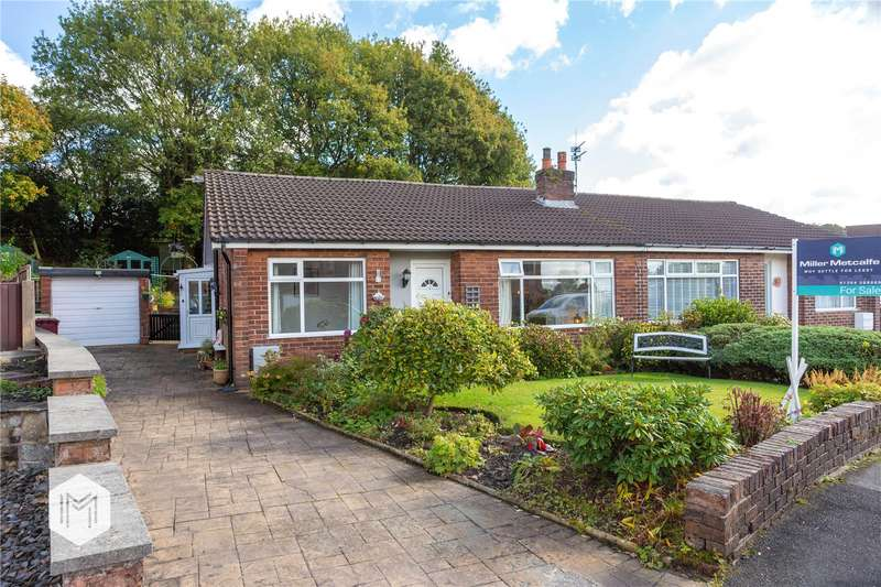 3 Bedrooms Semi Detached Bungalow for sale in Catterall Crescent, Harwood, Bolton, BL2