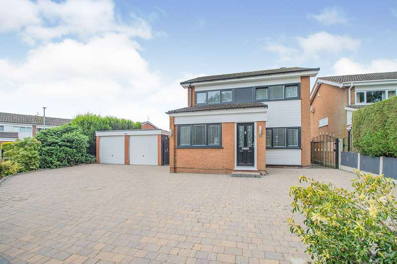 4 Bedrooms Detached House for sale in Valley Grove, Denton, Manchester, Greater Manchester, M34
