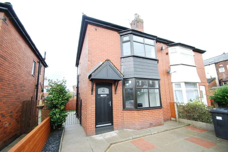 2 Bedrooms Semi Detached House for sale in Eastham Avenue, Limefield