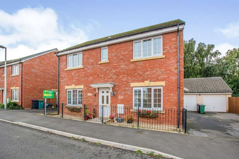 4 Bedrooms Detached House for sale in Parc Panteg, Griffithstown, Pontypool