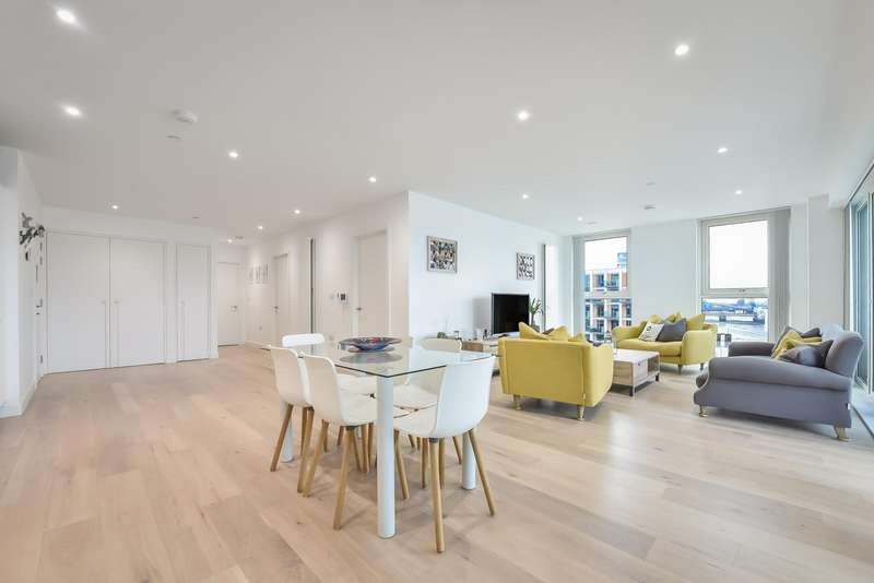 3 Bedrooms Flat for sale in Carrick House, E16