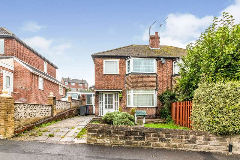 3 Bedrooms Semi Detached House for sale in Rivelin Park Crescent, Sheffield, South Yorkshire, S6