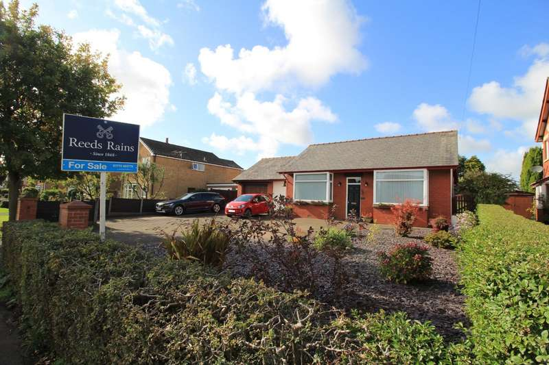 3 Bedrooms Detached Bungalow for sale in Croston Road, Farington Moss, Leyland, Lancashire, PR26