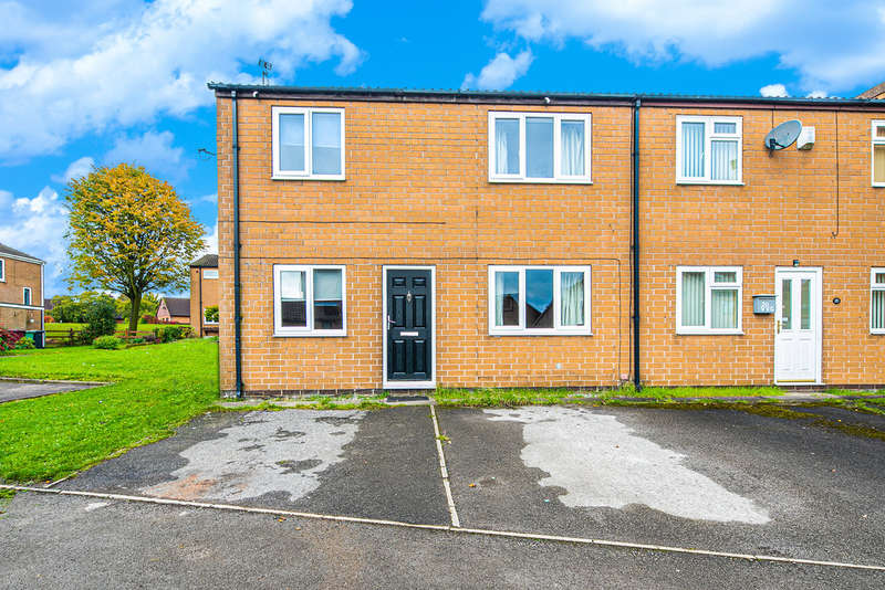 4 Bedrooms Semi Detached House for sale in Valley View Close,Eckington