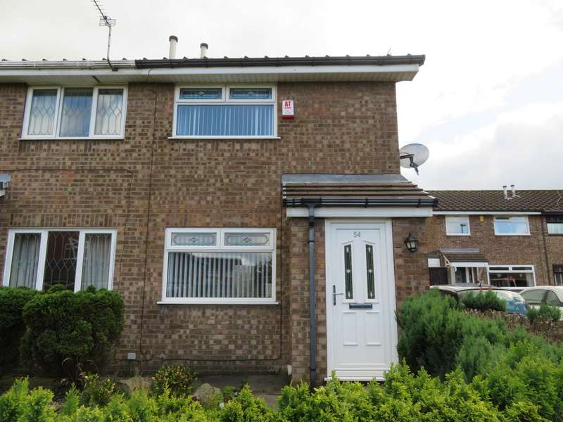 2 Bedrooms Semi Detached House for sale in Bullcote Green, Royton