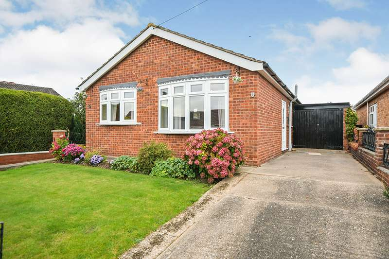 2 Bedrooms Detached Bungalow for sale in Lapwing Close, Skellingthorpe, Lincoln, Lincolnshire, LN6