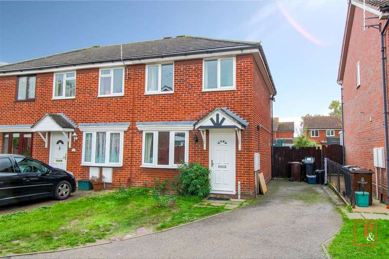 2 Bedrooms End Of Terrace House for sale in Flanders Fields, Colchester CO2