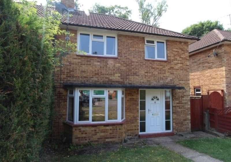 3 Bedrooms Semi Detached House for sale in Black Boy Wood, Bricket Wood, St. Albans, Hertfordshire, AL2 3LL
