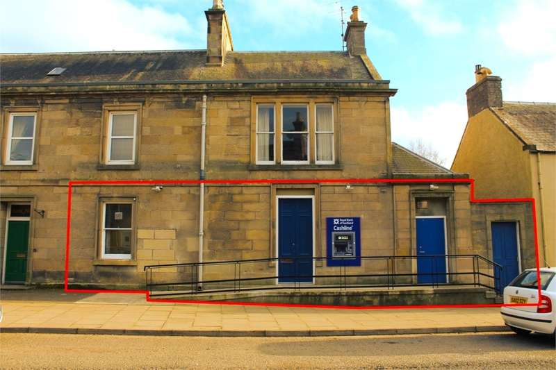 10 Bedrooms Commercial Property for rent in OFFICES/ RETAIL/ CAFE, High Street, Earlston, Scottish Borders