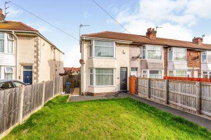 2 Bedrooms End Of Terrace House for sale in Newhouse Road, Blackpool, Lancashire, ., FY4
