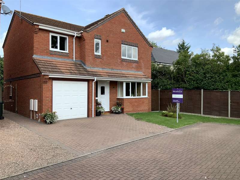 4 Bedrooms Detached House for sale in Christina Close, Kempsey, Worcester