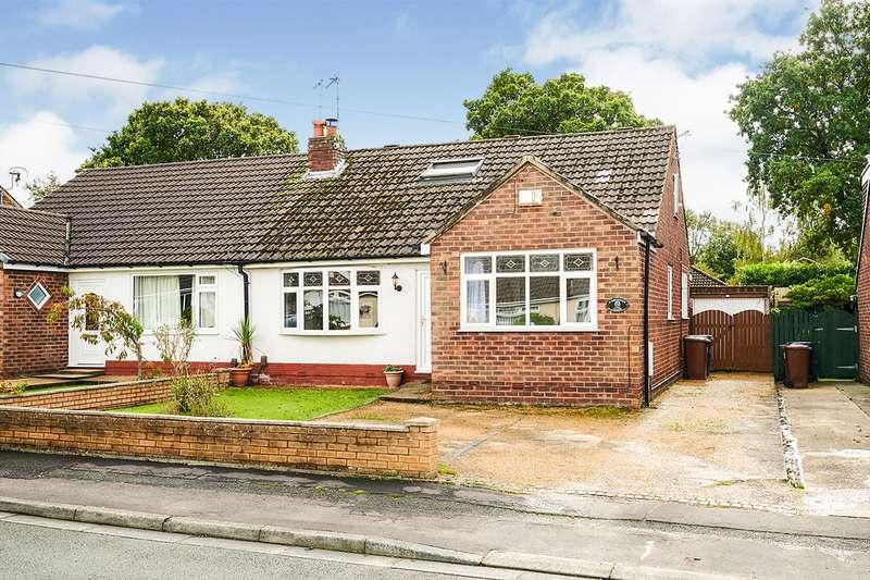 3 Bedrooms Semi Detached Bungalow for sale in Greystock Close, Bamber Bridge, Preston, PR5