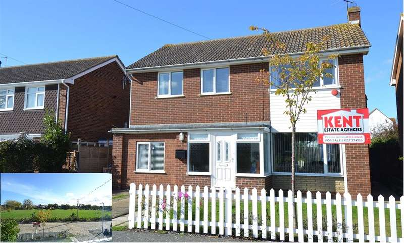 4 Bedrooms Detached House for sale in Fern Close, Chestfield, Whitstable