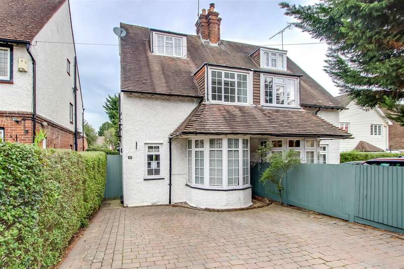 3 Bedrooms Semi Detached House for sale in London Road, Westerham