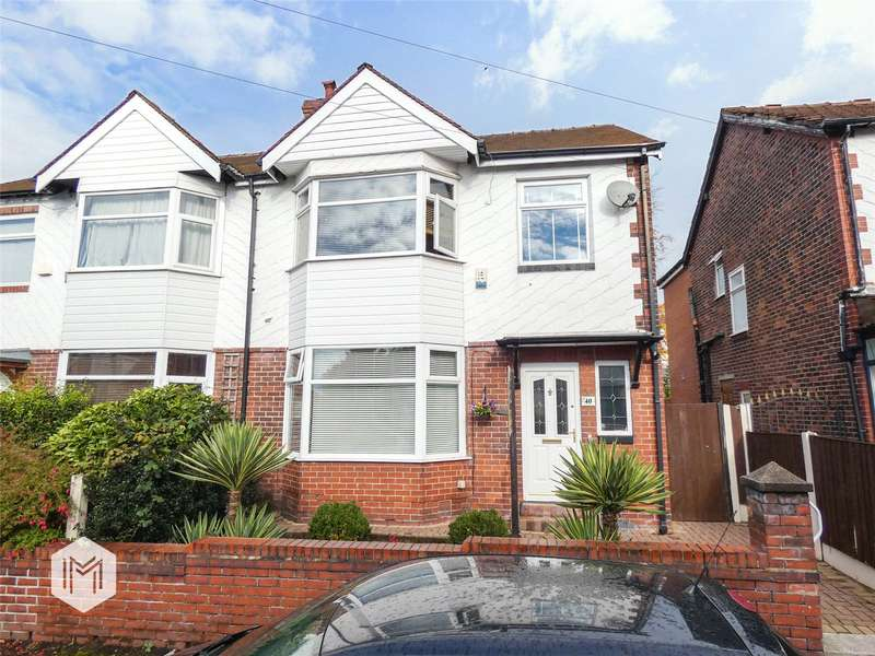 3 Bedrooms Semi Detached House for sale in Russell Street, Prestwich, Manchester, Greater Manchester, M25
