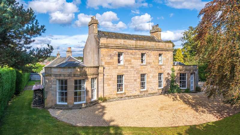6 Bedrooms Detached House for sale in Westfield House, Westfield Road, Cupar, Fife, KY15