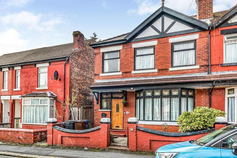 3 Bedrooms Semi Detached House for sale in Fort Road, Prestwich, Manchester, Greater Manchester, M25
