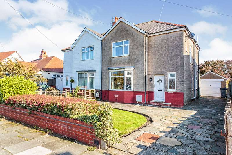 3 Bedrooms Semi Detached House for sale in Sunny Bank Avenue, Bispham, Blackpool, Lancashire, FY2