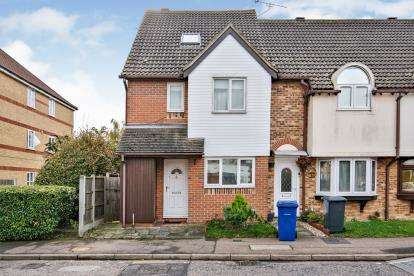 4 Bedrooms End Of Terrace House for sale in Grays, Thurrock, Essex