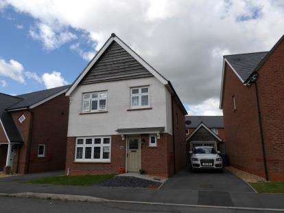 3 Bedrooms Detached House for sale in Lon Y Wyddfa, Penrhosgarnedd, Bangor, Gwynedd, LL57