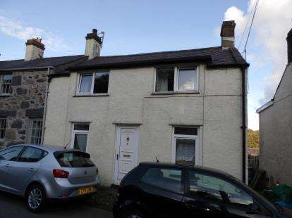 3 Bedrooms End Of Terrace House for sale in High Street, Glasinfryn, Bangor, Gwynedd, LL57