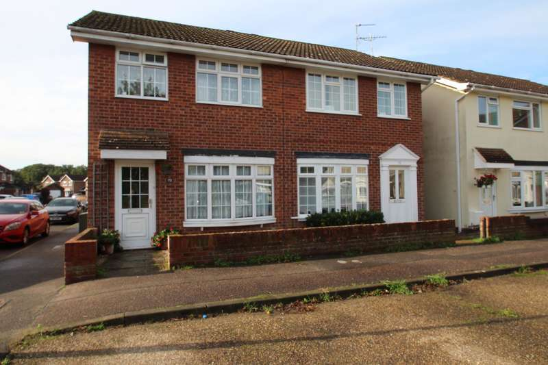 3 Bedrooms Semi Detached House for sale in WESTLANDS, COLCHESTER
