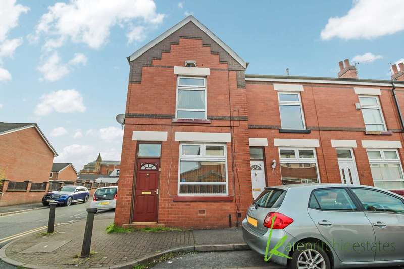 3 Bedrooms End Of Terrace House for sale in Crumpsall Street, Bolton