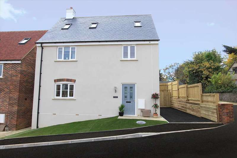 4 Bedrooms Detached House for sale in St Marks Rise Dursley, Woodmancote, Dursley