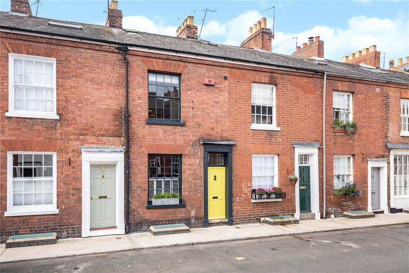 3 Bedrooms Terraced House for sale in York Place, Barbourne, Worcester