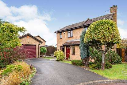 4 Bedrooms Detached House for sale in Withy Way, Cam, Dursley, Gloucestershire