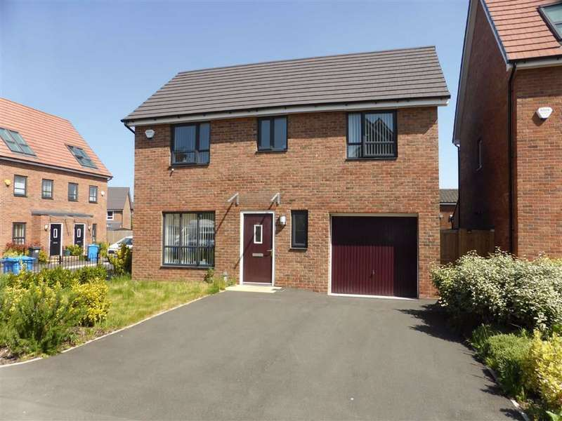 3 Bedrooms Detached House for sale in Meadow Road, New Broughton