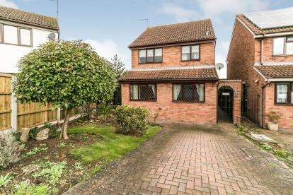 3 Bedrooms Detached House for sale in Blakeney Close, Copperfields, Worcester, Worcestershire