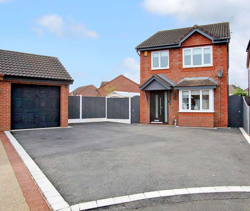 3 Bedrooms Detached House for sale in Moxon Way, Ashton-in-Makerfield, Wigan, WN4