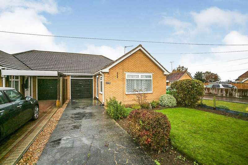 2 Bedrooms Semi Detached Bungalow for sale in Barton Hill Drive, Minster On Sea, Sheerness, ME12