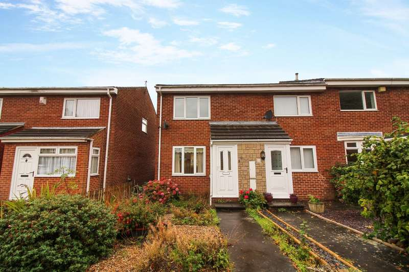2 Bedrooms Semi Detached House for rent in Wimslow Close, Wallsend