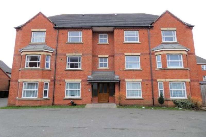 2 Bedrooms Flat for sale in Flannagan Way, Coalville, LE67