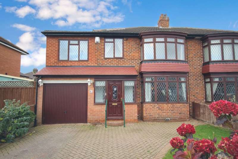 4 Bedrooms Semi Detached House for sale in Ruskin Avenue, Acklam, Middlesbrough, TS5