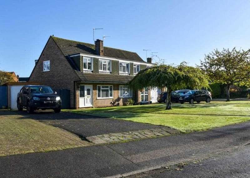 3 Bedrooms Semi Detached House for sale in Darwin Drive, Tonbridge