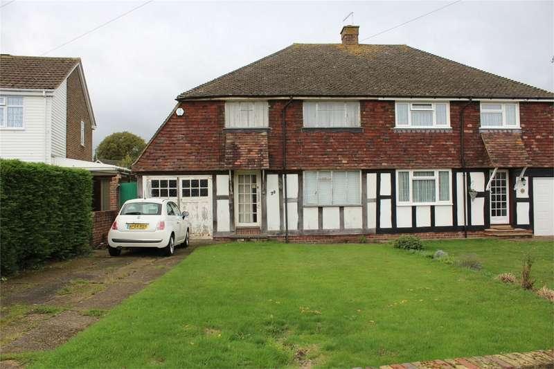 3 Bedrooms Semi Detached House for sale in Chalfont Drive, Rainham, Gillingham, Kent