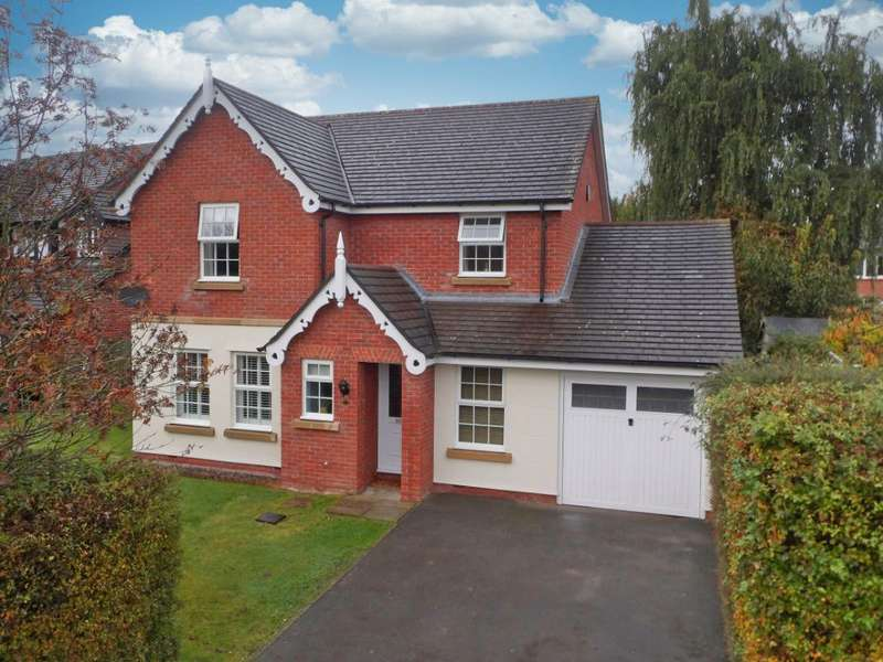 4 Bedrooms Property for sale in Edmund Wright Way, Nantwich, Cheshire