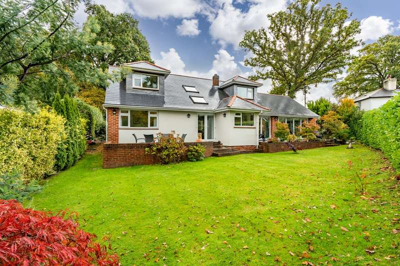 4 Bedrooms Chalet House for sale in Hungerford Bottom, Bursledon, Southampton, Hampshire. SO31 8DF