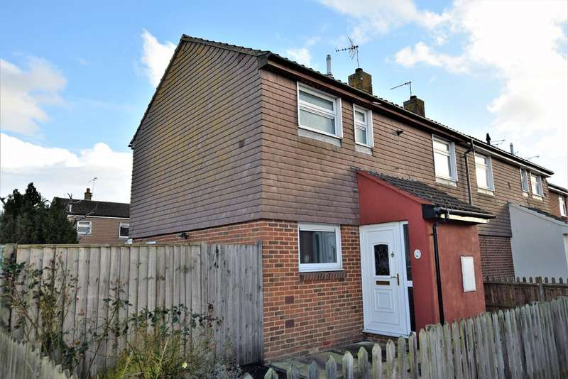 2 Bedrooms End Of Terrace House for sale in Arcon Close, Ashford