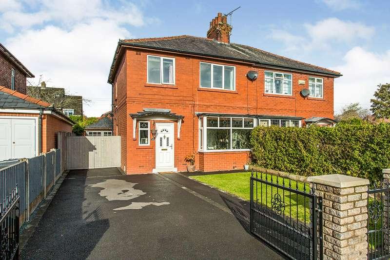3 Bedrooms Semi Detached House for sale in Moor Avenue, Penwortham, Preston, PR1