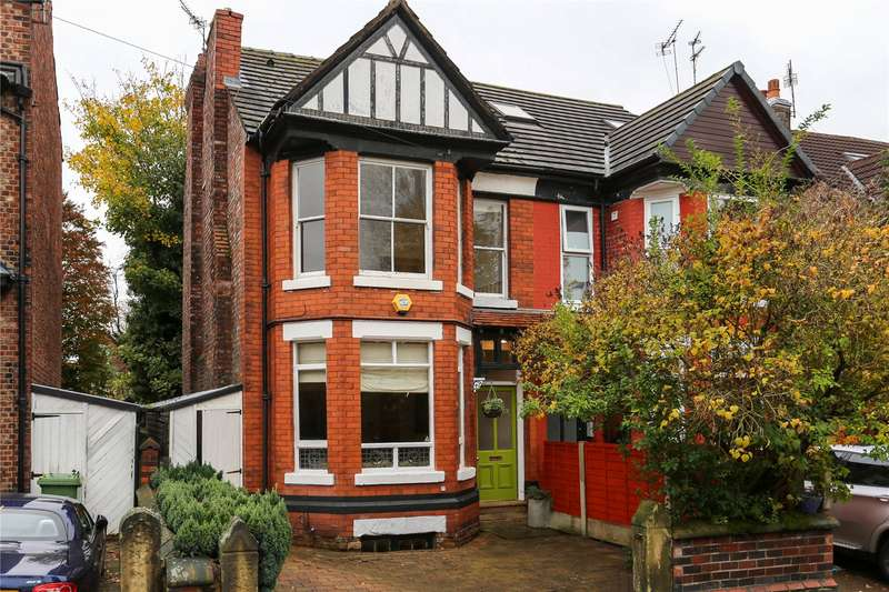 4 Bedrooms Semi Detached House for sale in Northen Grove, West Didsbury, Manchester, M20