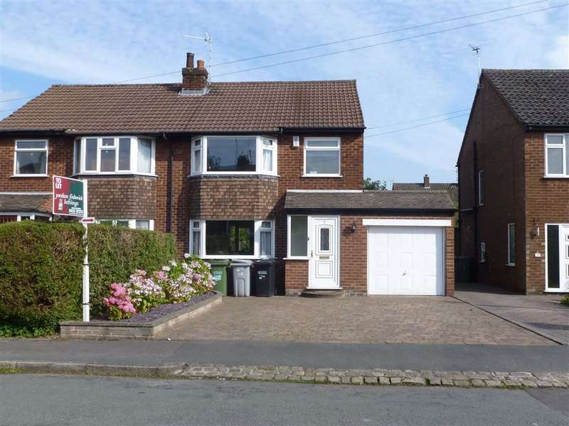 3 Bedrooms Semi Detached House for rent in Park Brook Road, Macclesfield, Macclesfield